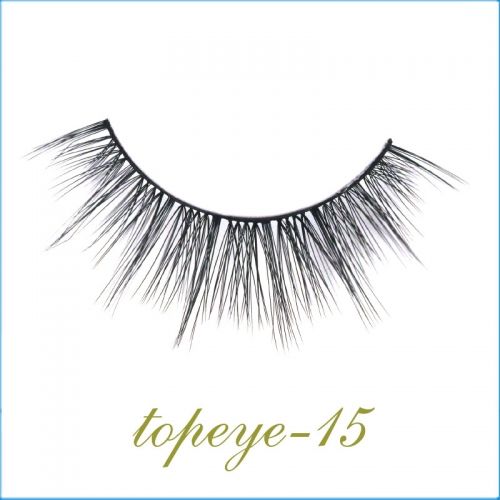 E-15 Synthic Hair Faux 3D Mink Eyelashes lash Wholesale Colorful Eyelashes