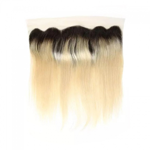 New Products Transparent Lace Straight Original Human Hair 1B613 Closure With Baby Hair Brazilian Hairs Bundle With Closure