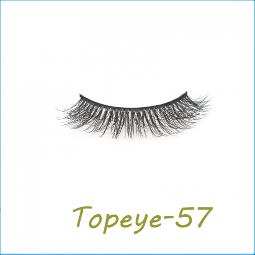 Wholesale Eyelashes 3D Faux Mink Eyelash Custom Packaging E-3D-57