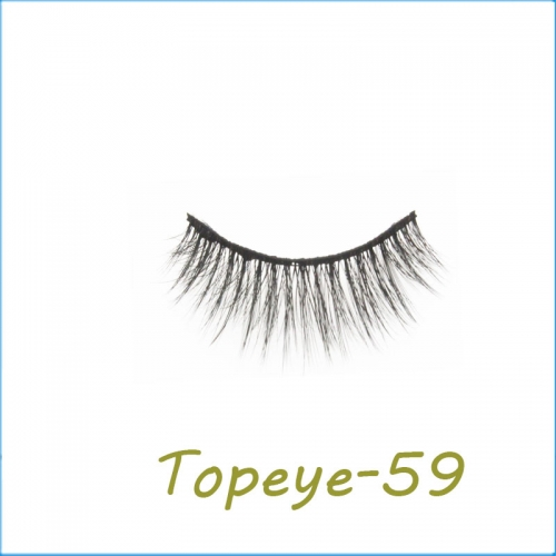 Wholesale 3D Faux Mink Eyelash Custom Packaging E-3D-59