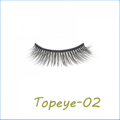 manufacturer factory price handmade 3D faux mink full strip eyeLashes