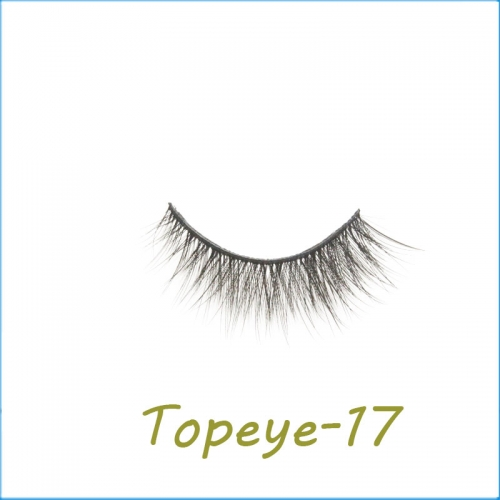 Wholesale 3D Faux Mink False Eye lash  Custom Packaging E-3D-17