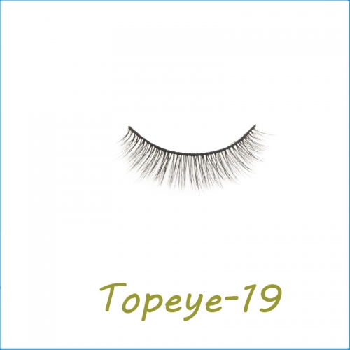 Wholesale 3D Faux Mink False Eye lash  Custom Packaging E-3D-19