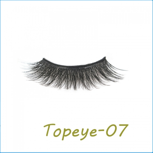 100% Handmade 3D faux mink strip eyelashes  Wholesale  customized  Packaging  private  label