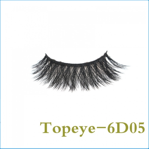 In Stock Hand Made  6D Faux mink strip eyelash