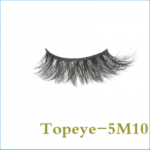 5D Mink Eyelashes Eyelash 100% Fur Material Lashes E-5DM-10