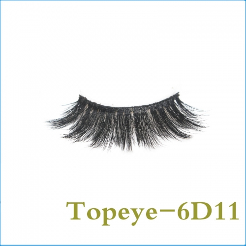 Most Popular Japanese/ Korean  6D Faux mink strip eyelash