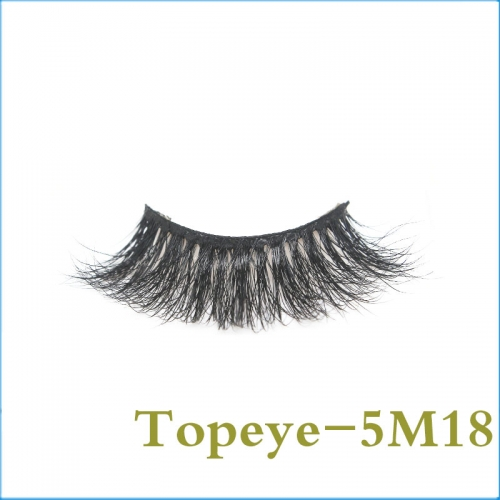 5D real mink strip  eyelashes With Custom Eyelash Box hand Made  eyelashes Professional  wholesale