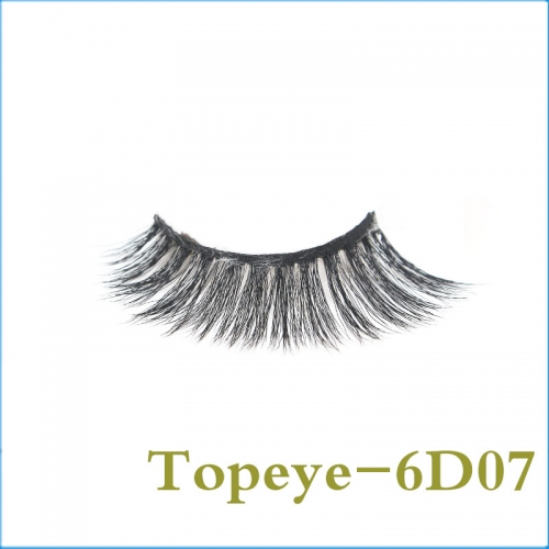 Fabulous Korean  6D Faux mink strip eyelash