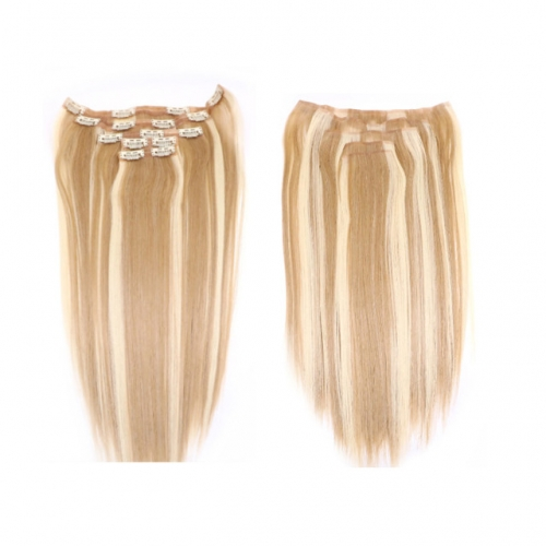 18inch Piano Color Clip in Hair Extension 8''-30''