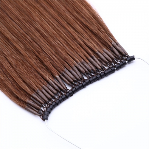 16inch Micro Ring with Double Strands Hair Extensions 8''-30''