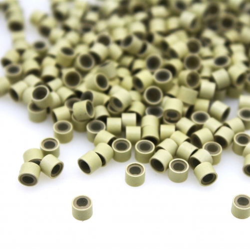 Micro Rings with Silicone