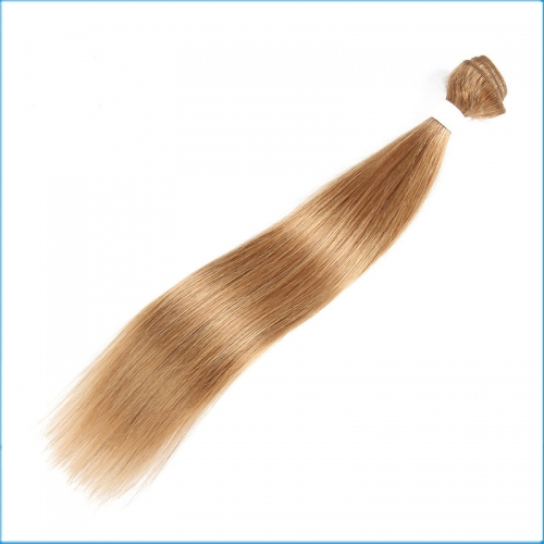 10A Grade 18inch Straight Hair Weft Hair Weaving 8''-30''