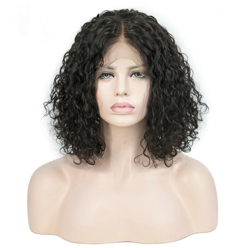 18'' Lace Front Wig 150% Density Human Hair Wig