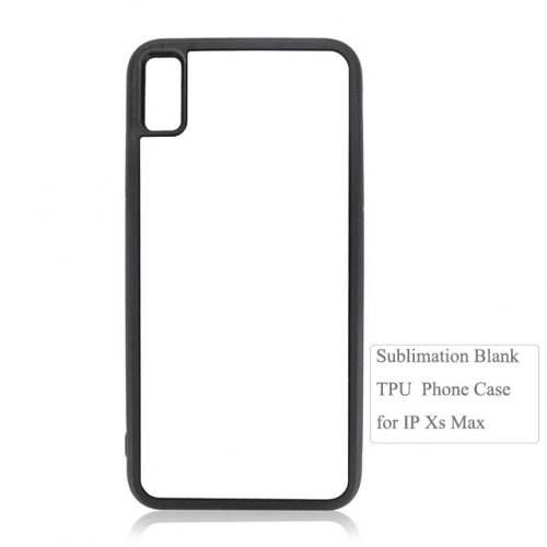 Personality Sublimation 2D Durable TPU Phone Case For IPhone XS Max