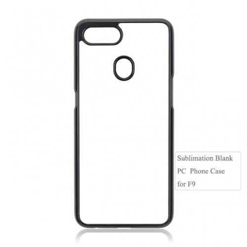 Personality design Blank cover.2D plastic phone case for OPP F9