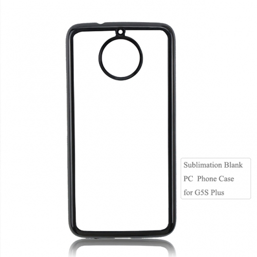 Sublimation Blank 2D plastic phone case for Moto G5S plus.Moto G series