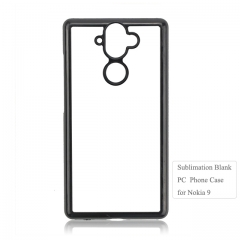 Factory price 2D hard PC sublimation blank phone case for Nokia 9