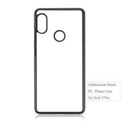 2D Sublimation blank phone cover For Redmi note 5 Pro