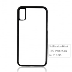 Sublimation 2D TPU Phone Case For IPhone X/XS molible phone