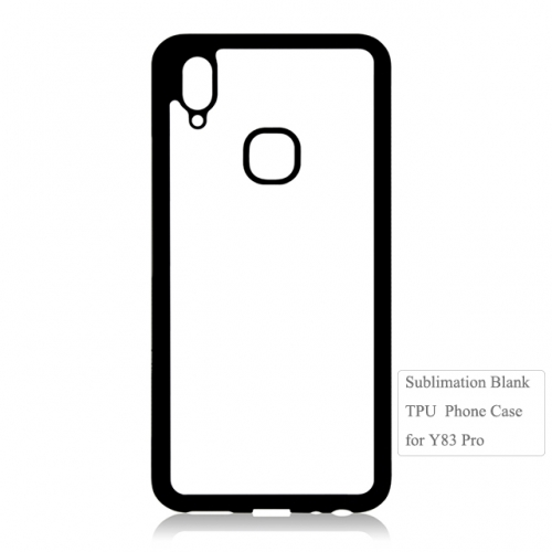 New Arrival 2D flexible TPU Blank phone case for Vivo Y83 Pro