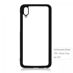 New Arrival 2D flexible TPU Blank phone case for Vivo Y97