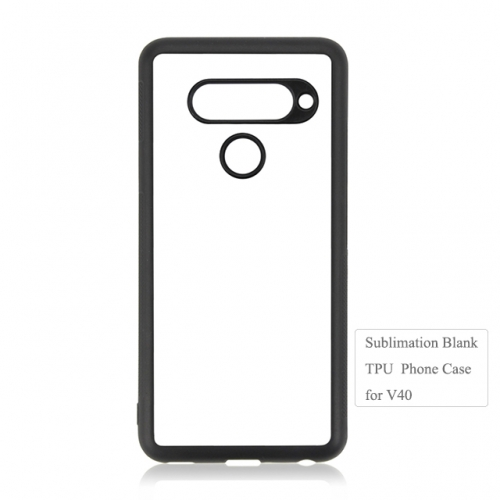 Personality design Blank 2D TPU phone case for LG V40 on hot sales