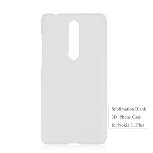 Wholesale price blank 3D heat transfer phone case for Nokia 3.1 Plus