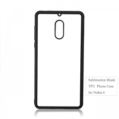 Personality design sublimation blank tpu phone case for Nokia 6
