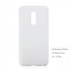 For Meizu 16 Plus mobile phone case,3D Heat transfer blank phone case
