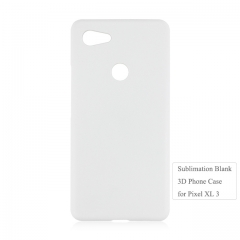 DIY heat transfer blank 3D Plastic phone housing For Google Pixel 3 XL.pixel 3/2/1