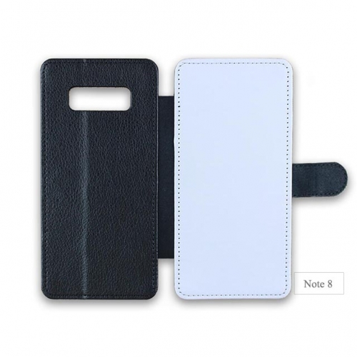 Customized PU Leather DIY phone cover for Sam sung note 8. galaxy note serise