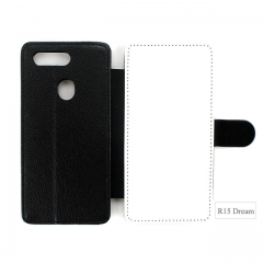 Sublimation PU Leather Phone Case For Oppo R15 Dream Mirror