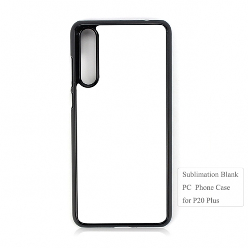 Personalized 2D Sublimation Blank PC Phone Case for huawei P20 Plus