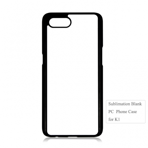 Hot Selling 2d sublimation blank phone pc case for oppo k1