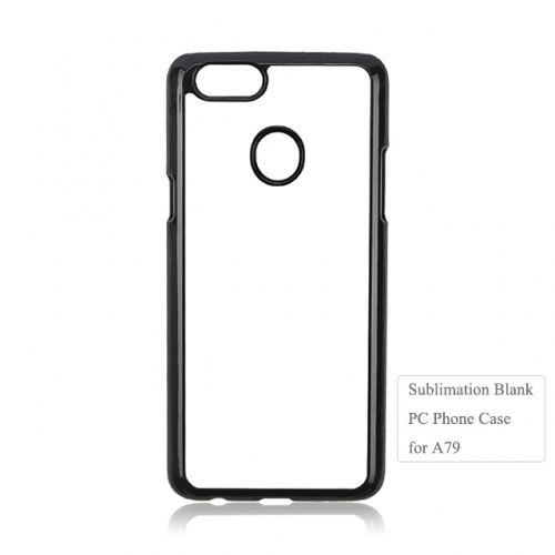 Diy Heat transfer Blank 2D PC phone case For OPPO A79