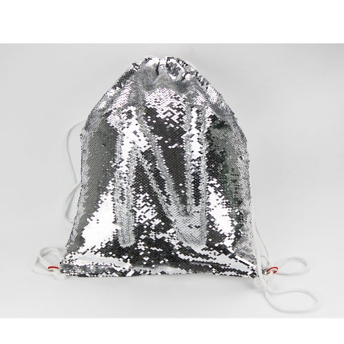 Custom Designs Blank Sublimation Magic Sequin drawstring bags on Hot Sales