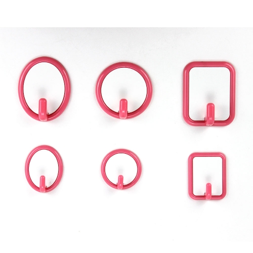 DIY Sublimation Blank Plastic Hook,Three Shapes Available