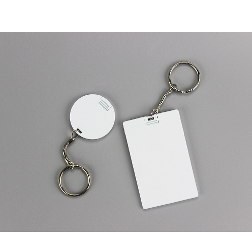 New Arrival Sublimation Blank USB Flash Drive Without Chip USB Keychain