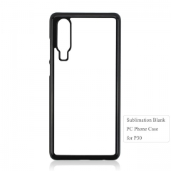 Custom Printing 2D Sbulimation Plastic Blank Cell Phone Case For Huawei P30