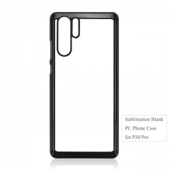 New Arrival Custom Printing 2D Sbulimation Plastic Cell Phone Case For Huawei P30 Pro