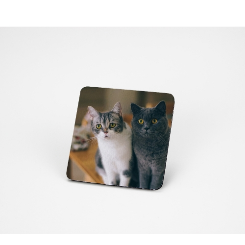 Diy Pattern Sublimation Blank Rubber Coaster