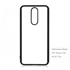 Durable 2D Soft Blank Sublimation Phone Case For OPPO R17 Pro on Hot Sales