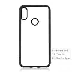 2019 New Arrival Sublimation 2D Blank Shell For Moto P30 Note.ONE Power