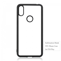 Hot Selling Sublimation 2D Soft Rubber Cellphone Case For Moto P30 Play