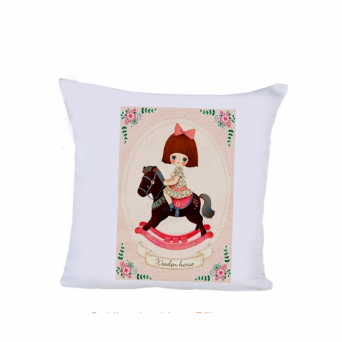 Fashion Brief Blank Sublimation Peachskin Pillow Cover