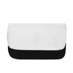 Fashionable Convenient Blank Sublimation Canva Cosmetic Bag