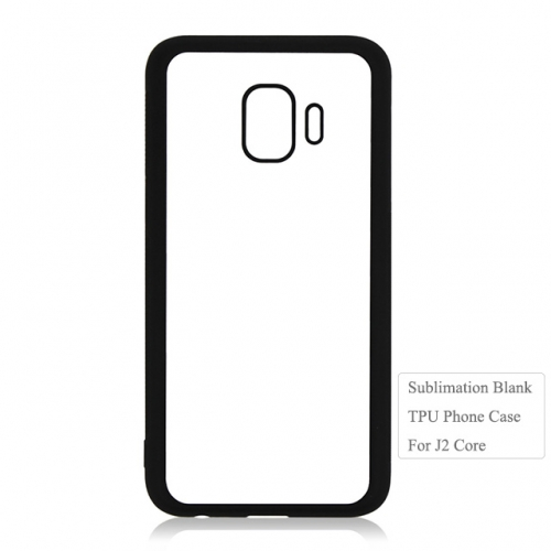 Newly 2D Heat Transfer Blank TPU Phone Case For Sam sung J2 Core