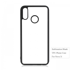 2D Sublimation Blank TPU Mobile Phone Case For Huawei Nova 3i.Nova Serise