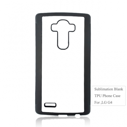 Blank Sublimation 2D Rubber Mobile Phone Case For LG G4